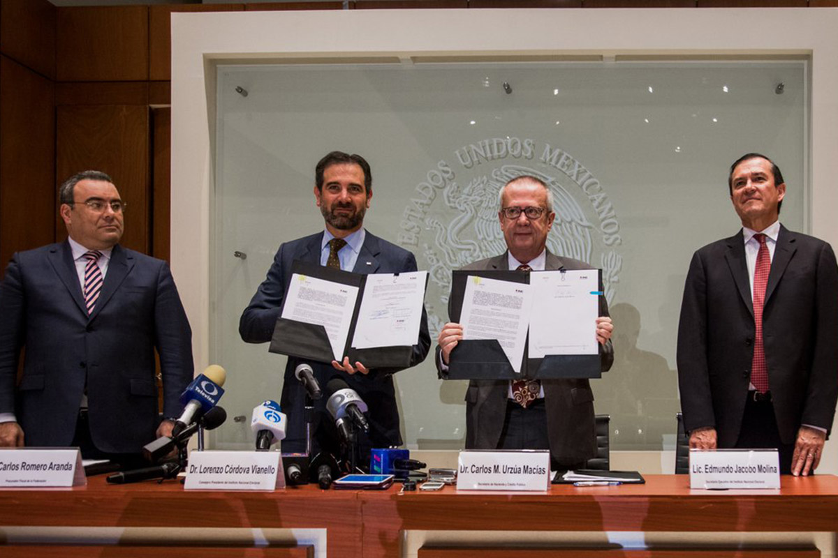 Evasión fiscal, INE, SHCP, Carlos Urzúa Macías, Lorenzo Córdova,