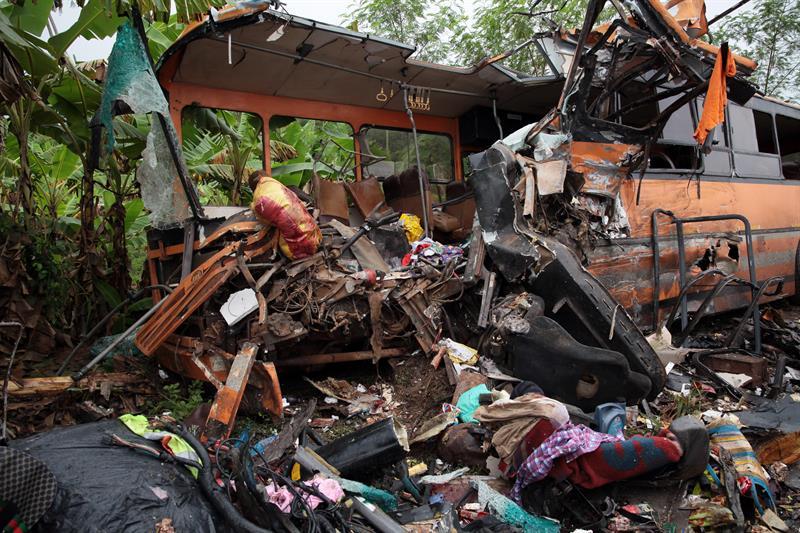 Ghana, accidente, muertos