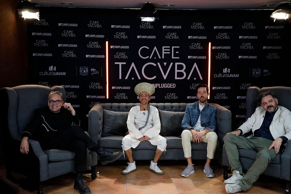 90305185. México, 5 Mar 2019 (Notimex-Especial).- La banda de rock Café Tacvba volverá a grabar un concierto en formato Unplugged para MTV, como lo hizo en 1995, ahora en la Sala Nezahualcóyotl del Centro Cultural Universitario, evento que coincide con sus 30 años de carrera. NOTIMEX/FOTO/ESPECIAL/COR/ACE/