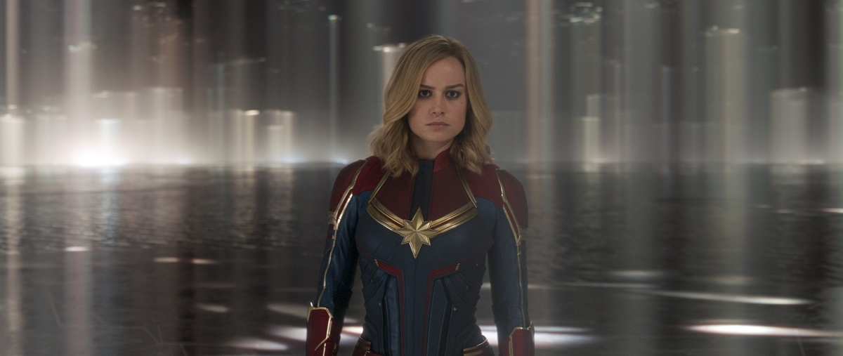 Marvel Studios' CAPTAIN MARVEL..Captain Marvel (Brie Larson)..Photo: Film Frame..©Marvel Studios 2019