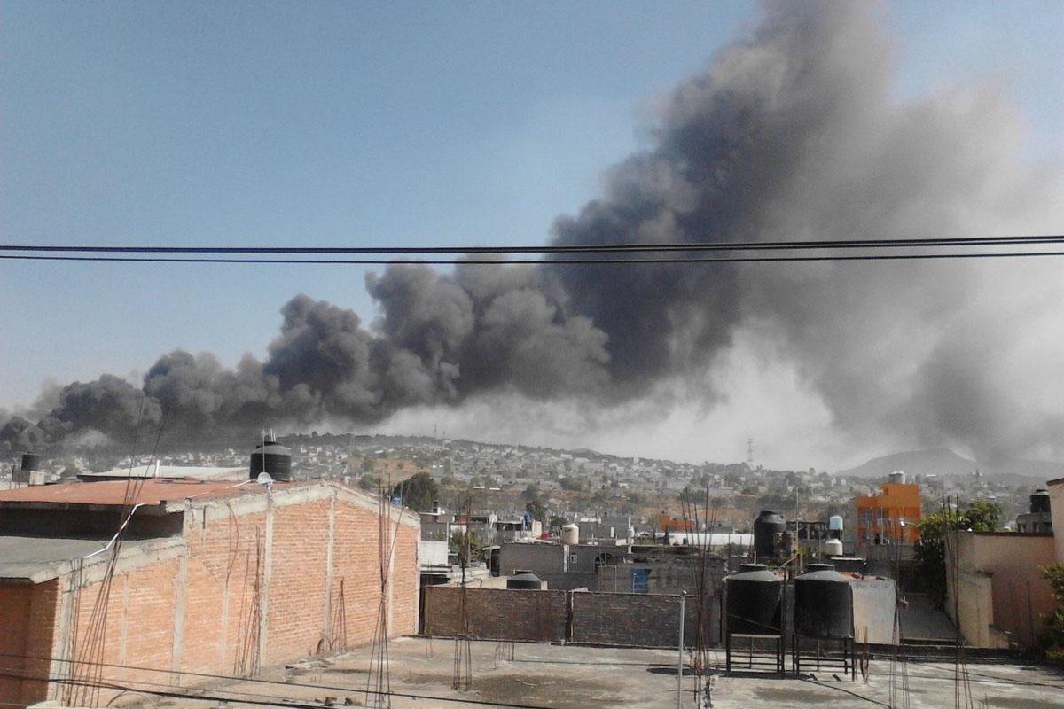 Chimalhuacán, polvorín, explosión, pirotecnia,