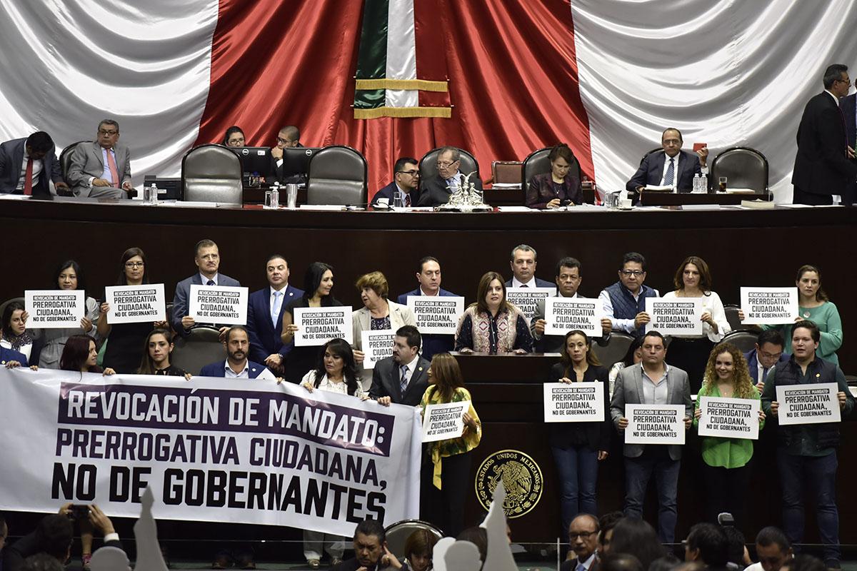 Revocación de Mandato, AMLO, Morena, diputados, Consulta,
