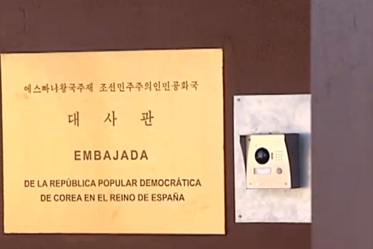 Asalto, embajada, Corea del Norte, España, Madrid, Adrián Hong Chang,