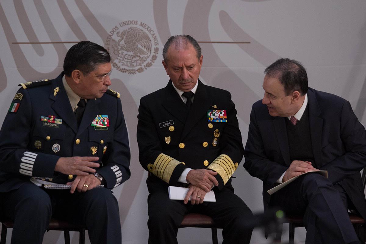 Guardia Nacional, Alfonso Durazo, Dedazo, Policía Federal, Policía Militar, Policía Naval, Ejército,
