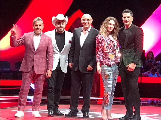 Belinda, Ricardo Montaner, Yahir y Lupillo Rivera son los coaches de La Voz ahora en Azteca.