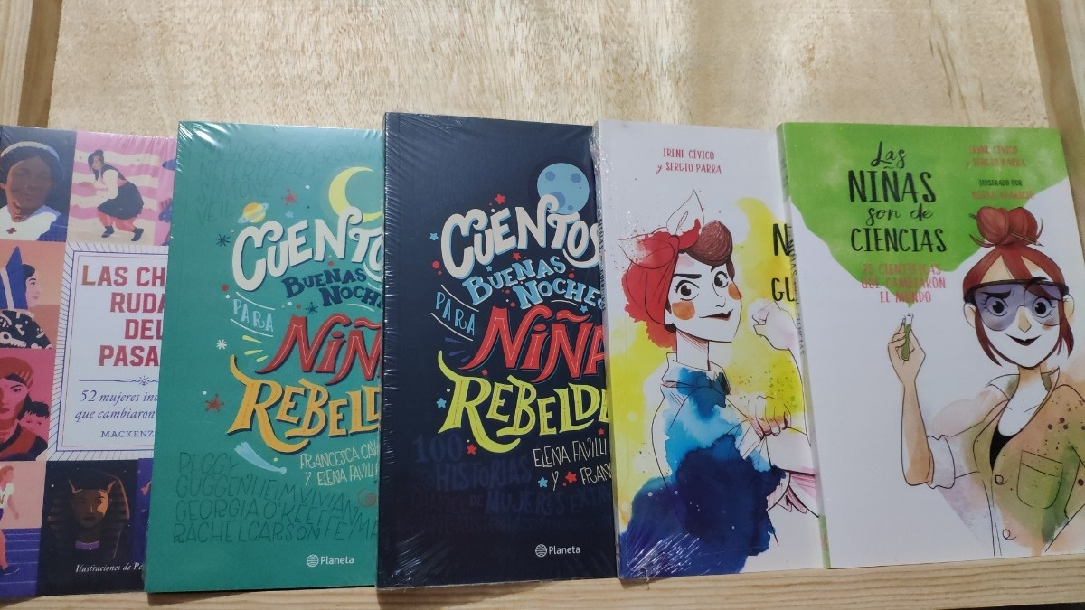 Libros sobre grandes mujeres para que las pequeñas se inspiren