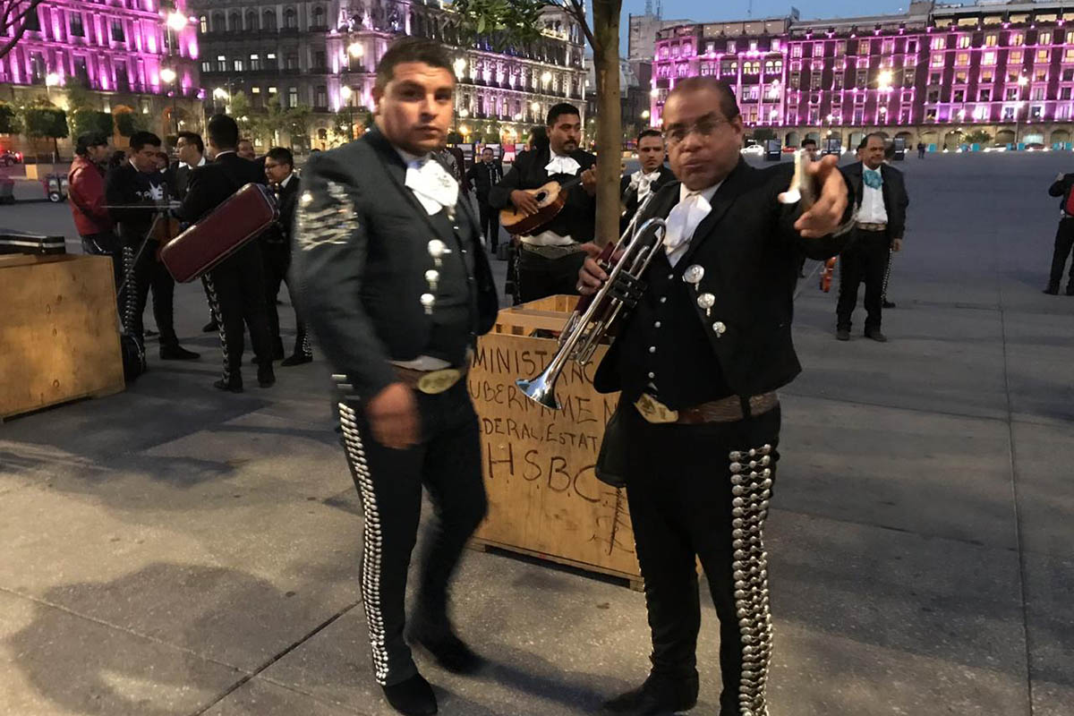 Mariachis, Palacio Nacional, Plaza Garibaldi, serenatas,