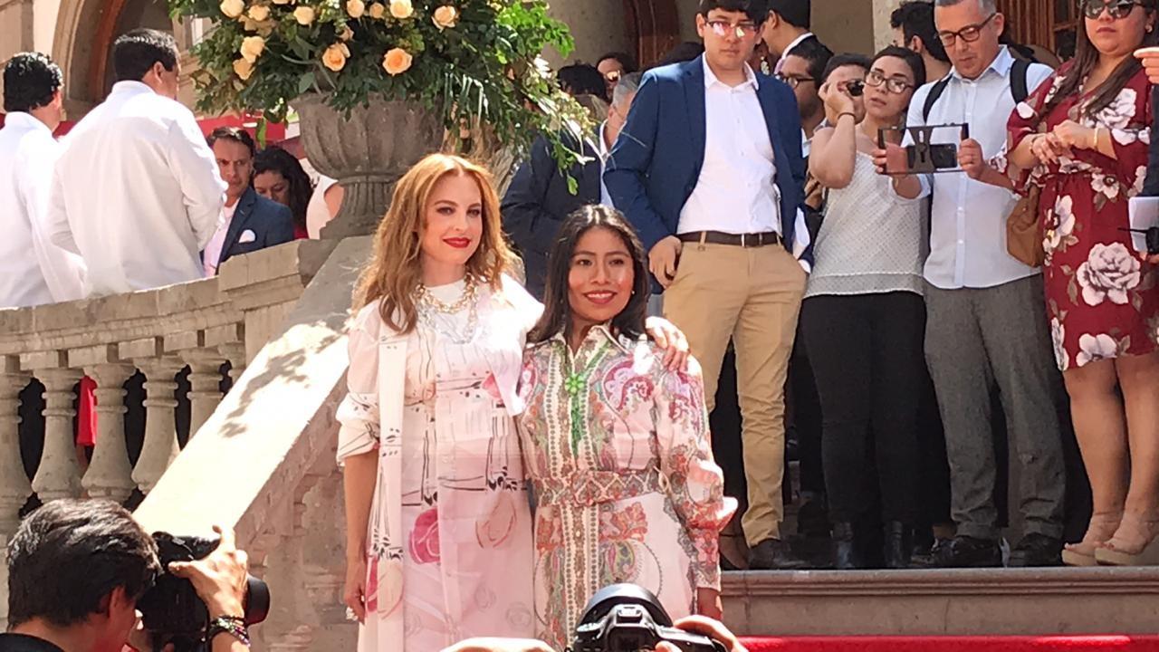 Marina de Tavira y Yalitza Aparicio/ Foto: Siete24