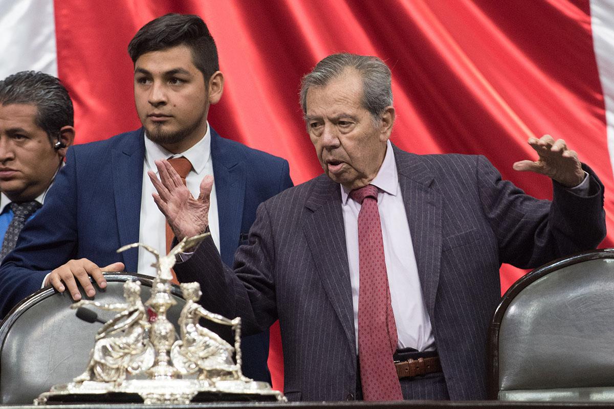 PAN, Partido Acción Nacional, Porfirio Muñoz Ledo, Cámara de Diputados, CNTE,