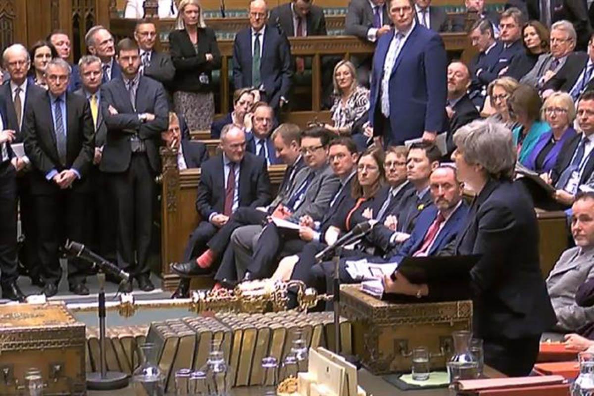 Parlamento británico, Reino Unido, Unión Europea, Brexit, Theresa May,