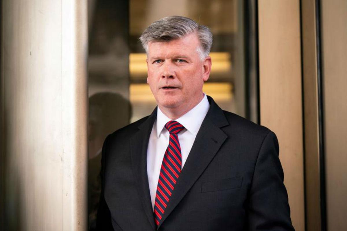 Kevin Downing, abogado de Paul Manafort, exjefe de campaña de Trump (EFE)