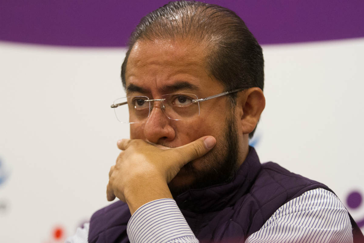 Hugo Eric Flores, líder del PES (Cuartoscuro)