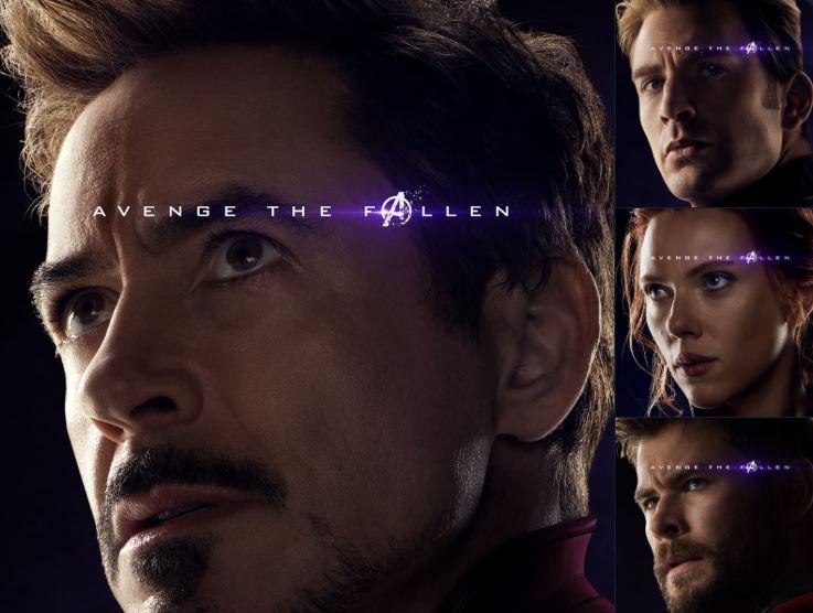Nuevos posters de Avengers: Endgame