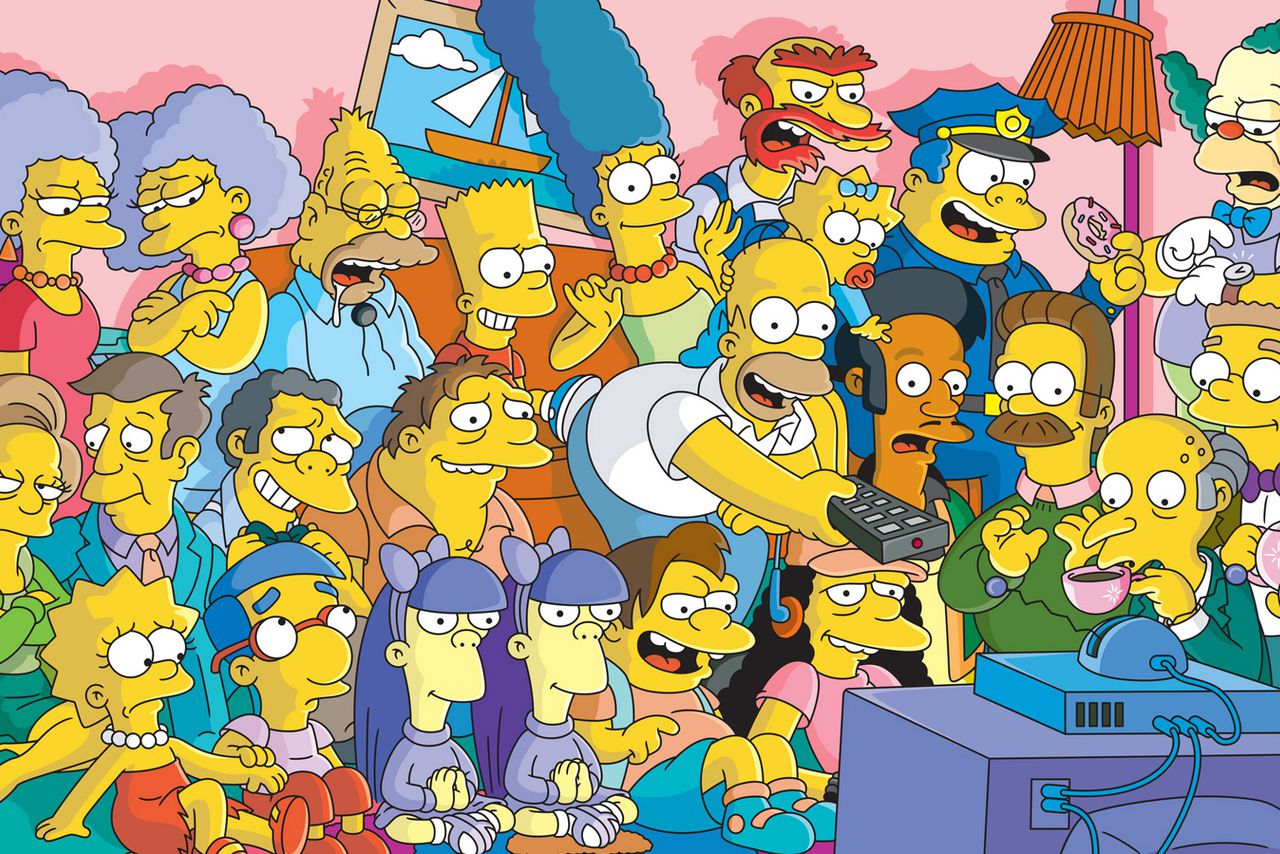 Los Simpson David Richardson
