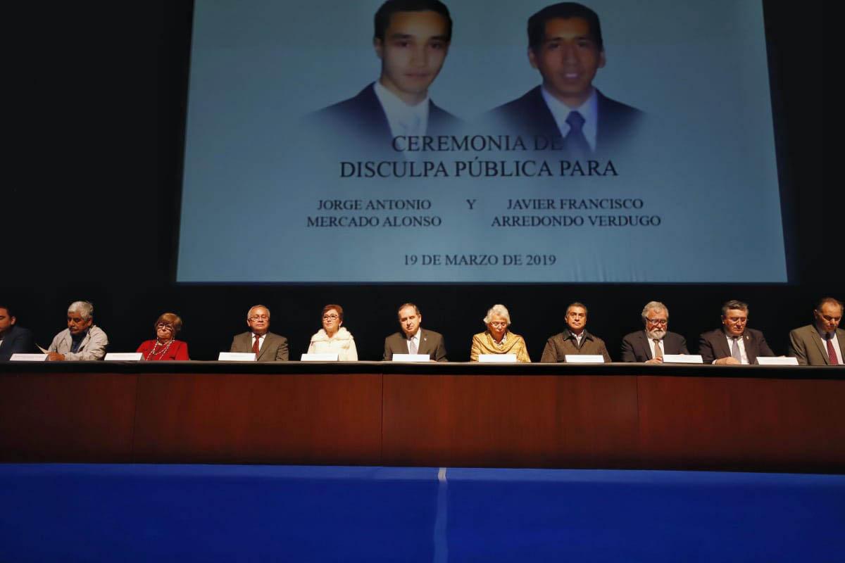 Tec de Monterrey, disculpa pública, Jorge Antonio Mercado Alonso, Francisco Arredondo, Olga Sánchez Cordero,