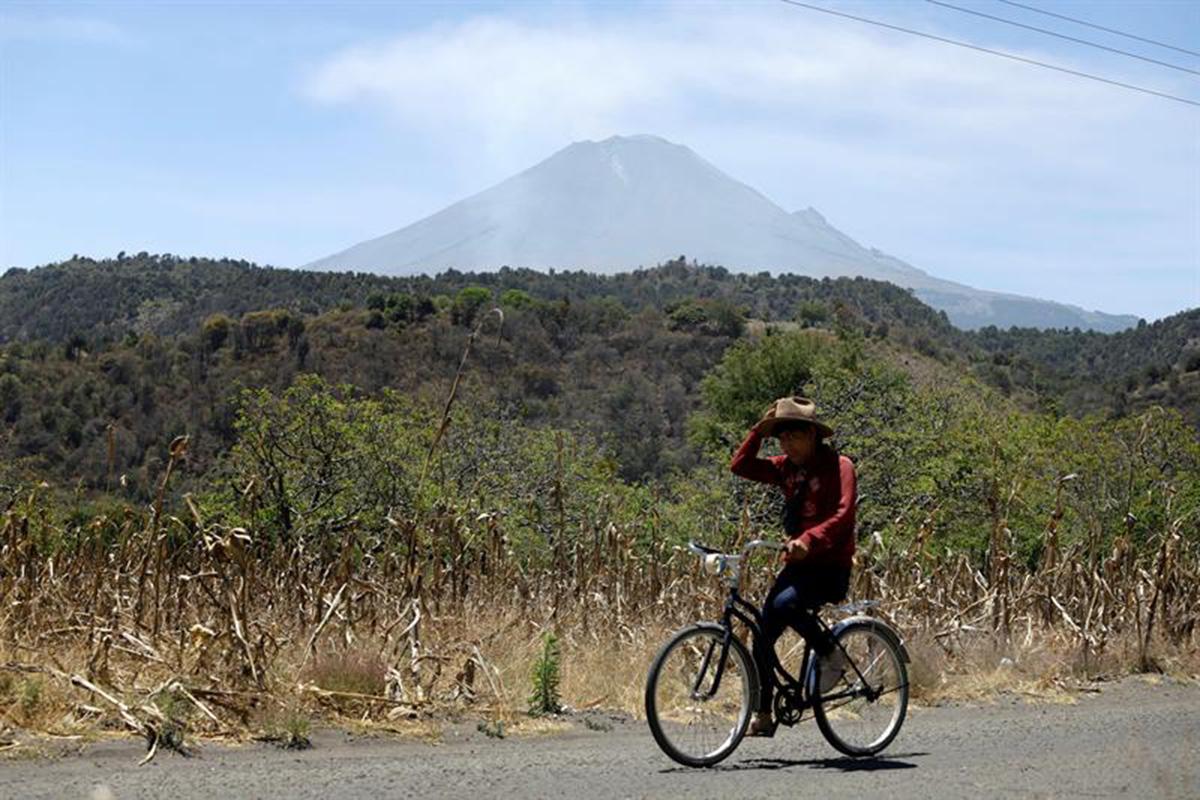 Popocatépetl, volcán, refugios, Puebla, Edomex, semáforo amarillo, fase 3