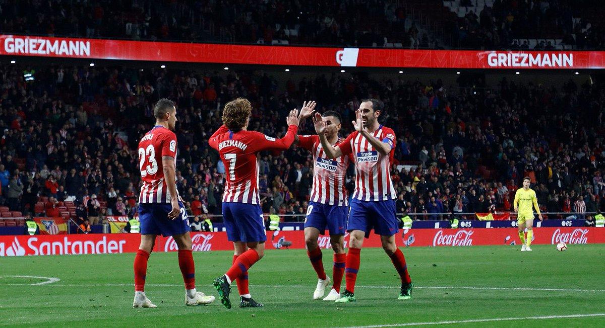 Atlético de Madrid mantiene la fe (Foto: Twitter Atlético de Madrid)