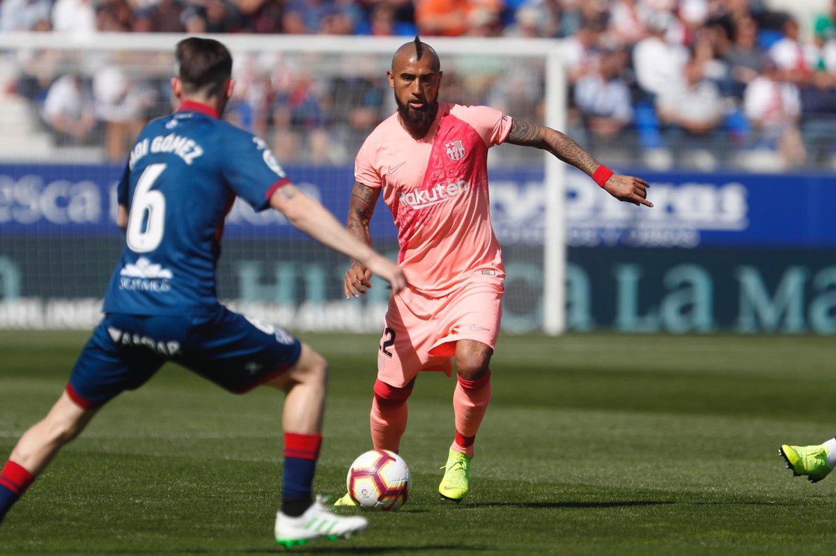 Barcelona empata con Huesca. Foto: Twitter