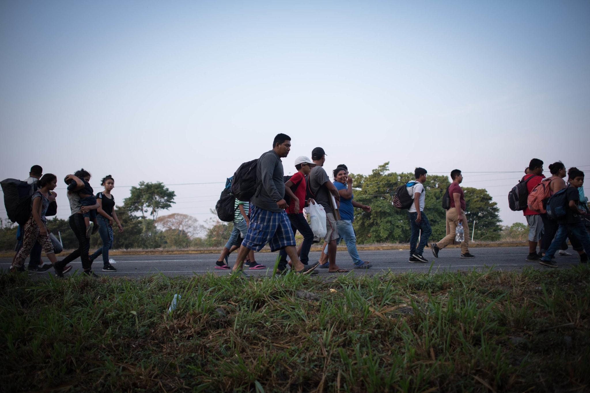 Migrantes, Caravana Migrante, Chiapas, Migración,