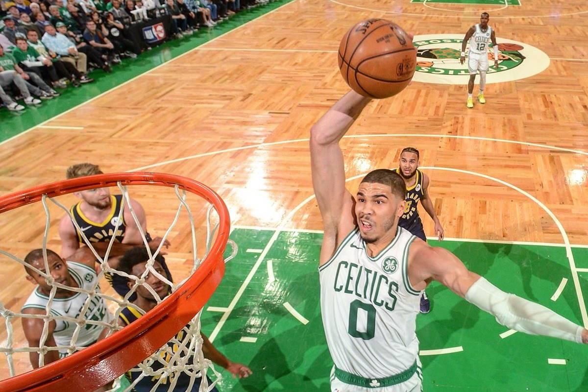 Celtics dio cuenta de Pacers. Foto: Twitter Celtics