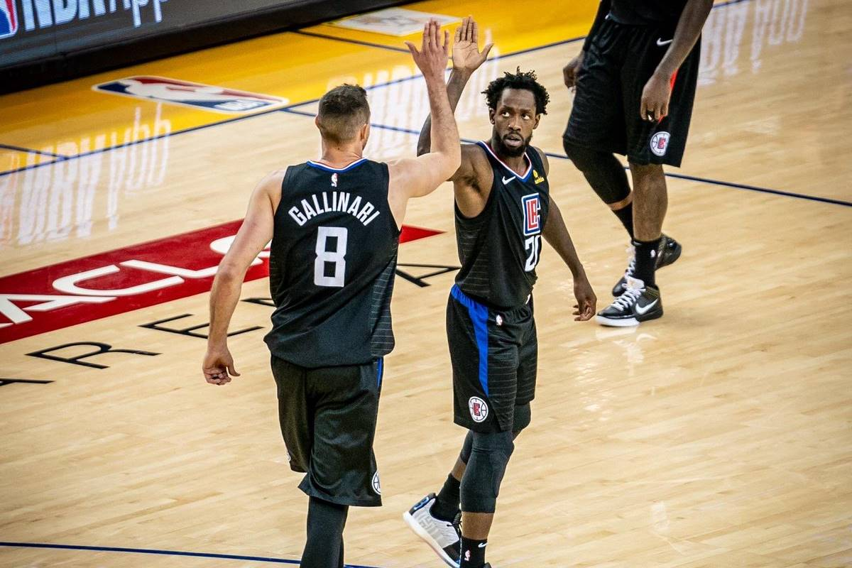 Clippers dio cuenta de Golden State: Foto: Twitter Clippers