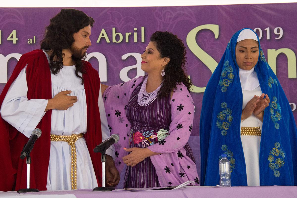 Semana Santa, Iztapalapa, Seguridad, Viacrucis,