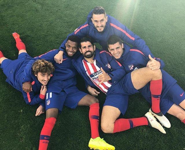 Diego Costa regresó a los entrenamientos. Foto: Diego Costa Twitter