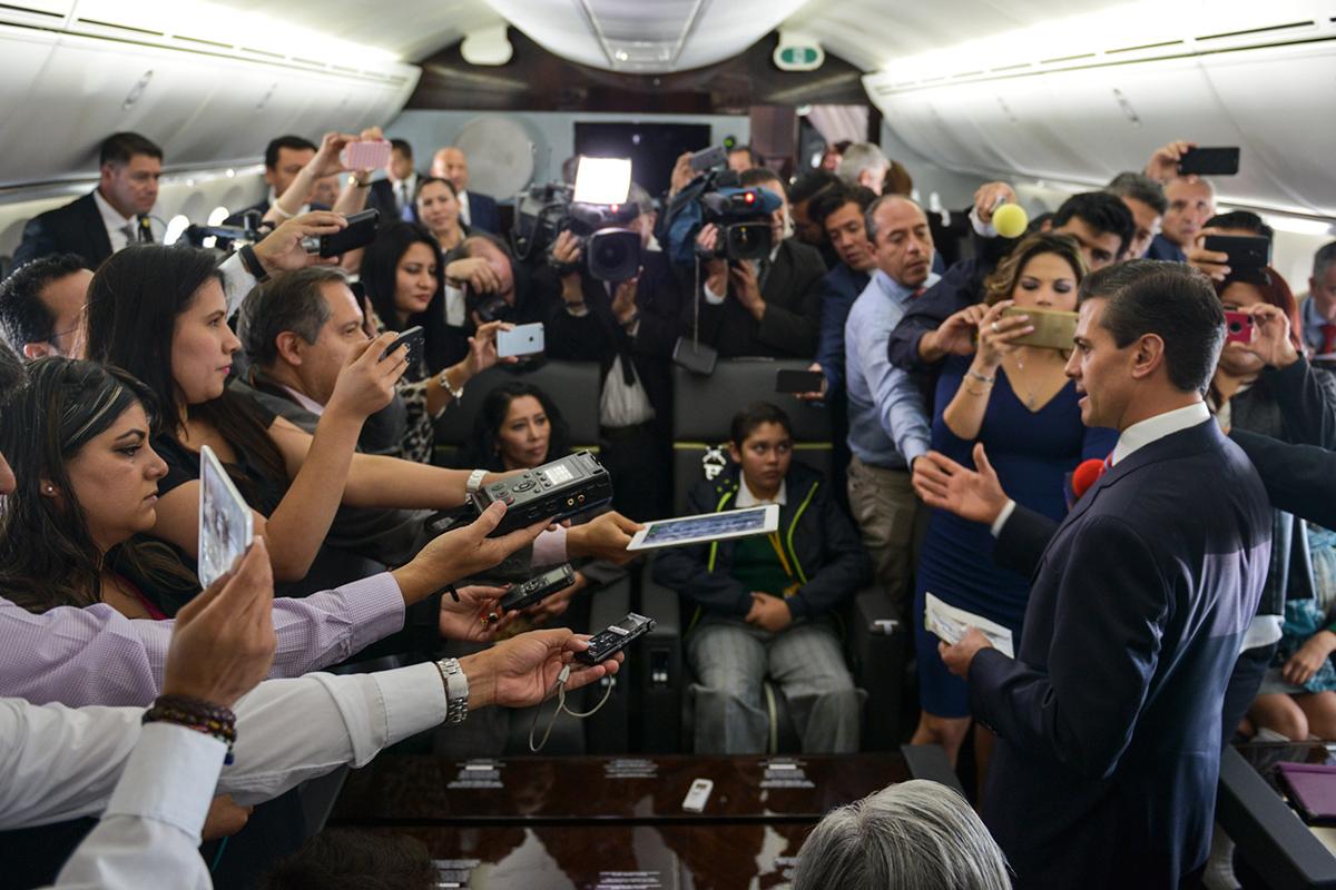 Enrique Peña Nieto, Periodismo, periodista, Artículo 19,