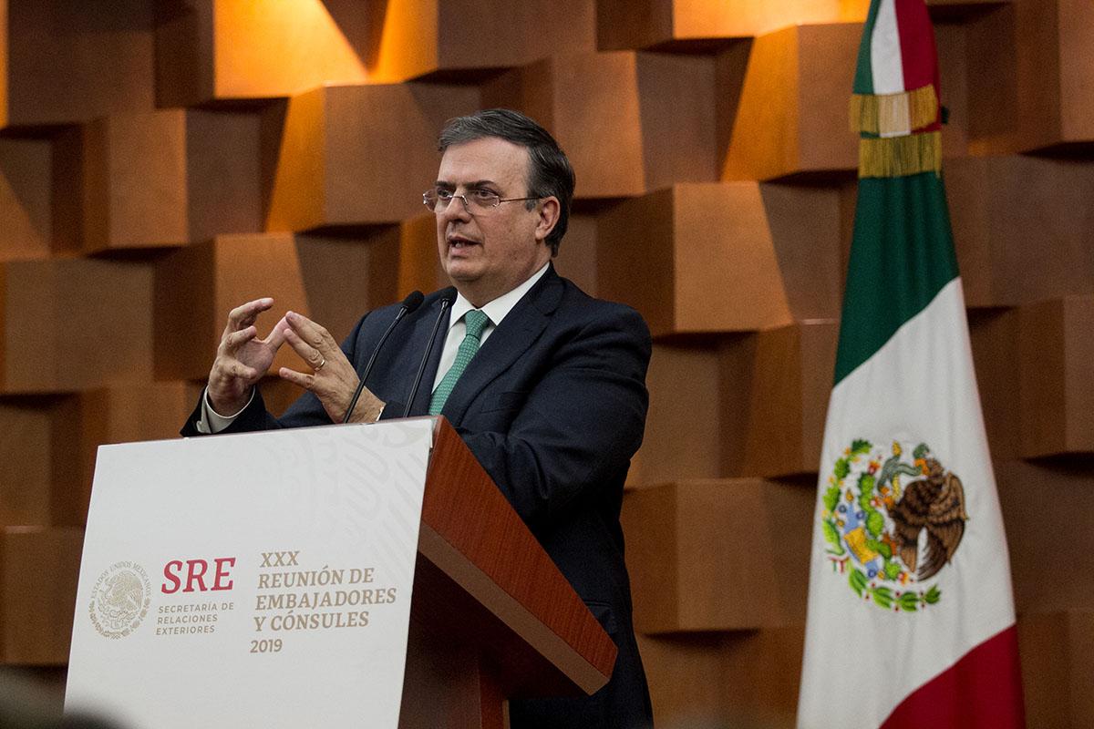 Marcelo Ebrard, SRE, Cancillería, cierre de frontera, Estados Unidos,