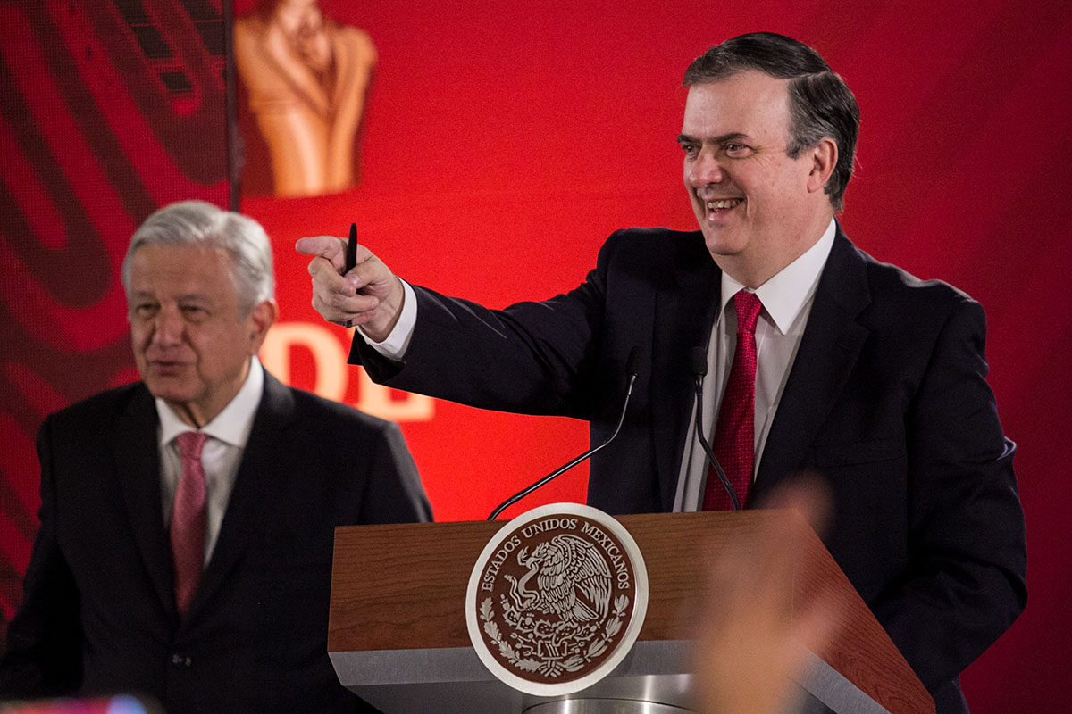 Marcelo Ebrard, Cancillería, Secretaría de Relaciones Exteriores, SRE, Donald Trump, Estados Unidos, frontera,