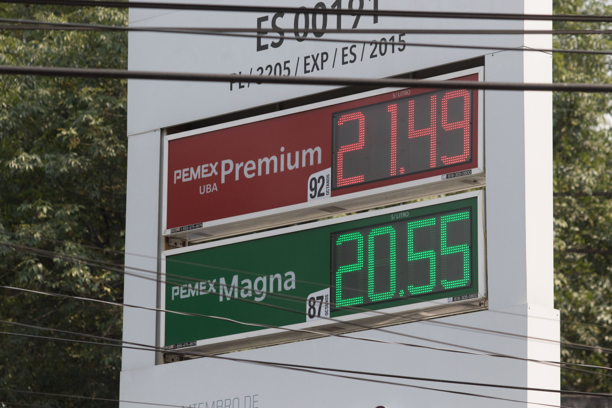 gasolinas, Pemex, Shell, Magna, Premium, Diesel, precios,