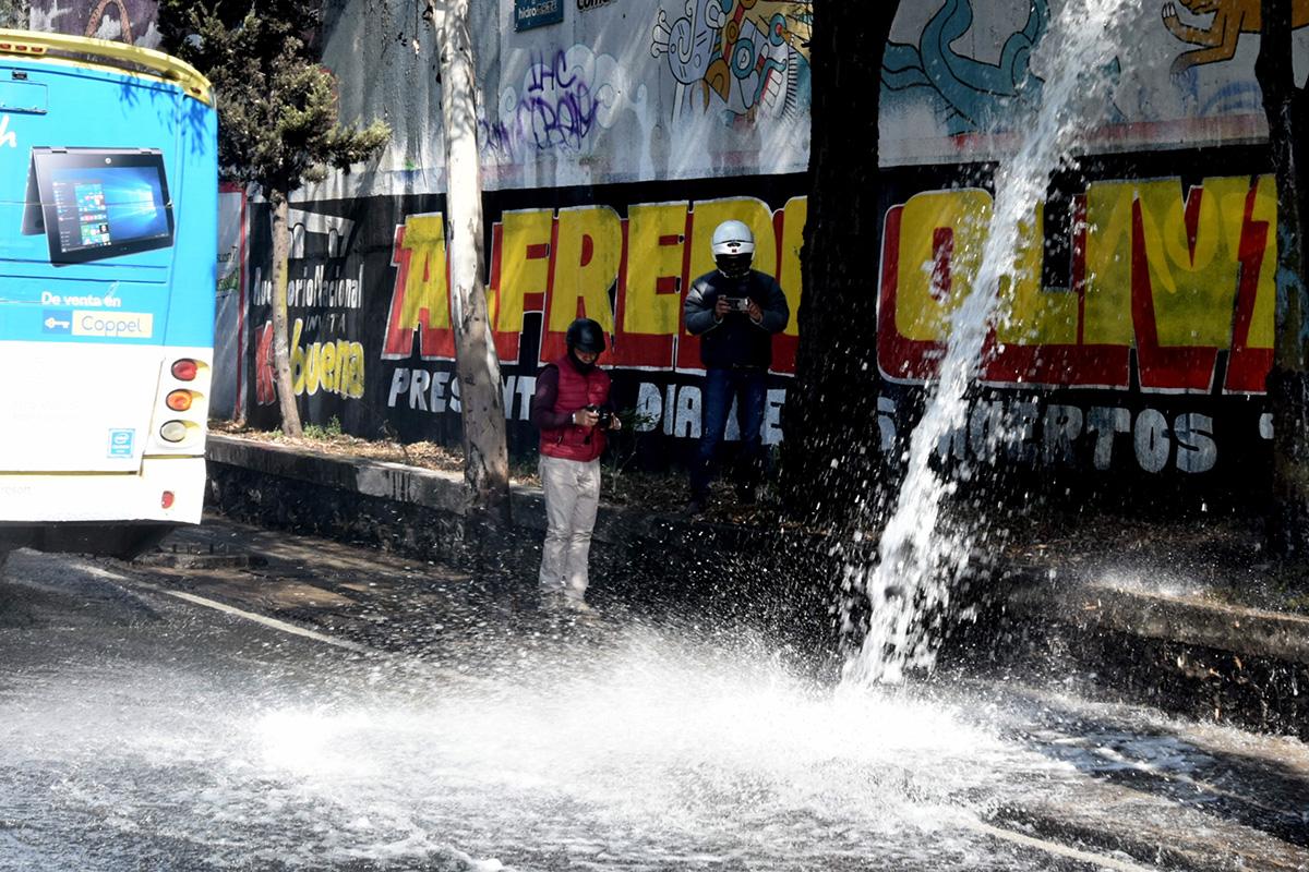 agua, crisis hídrica, red hidráulica, CDMX,