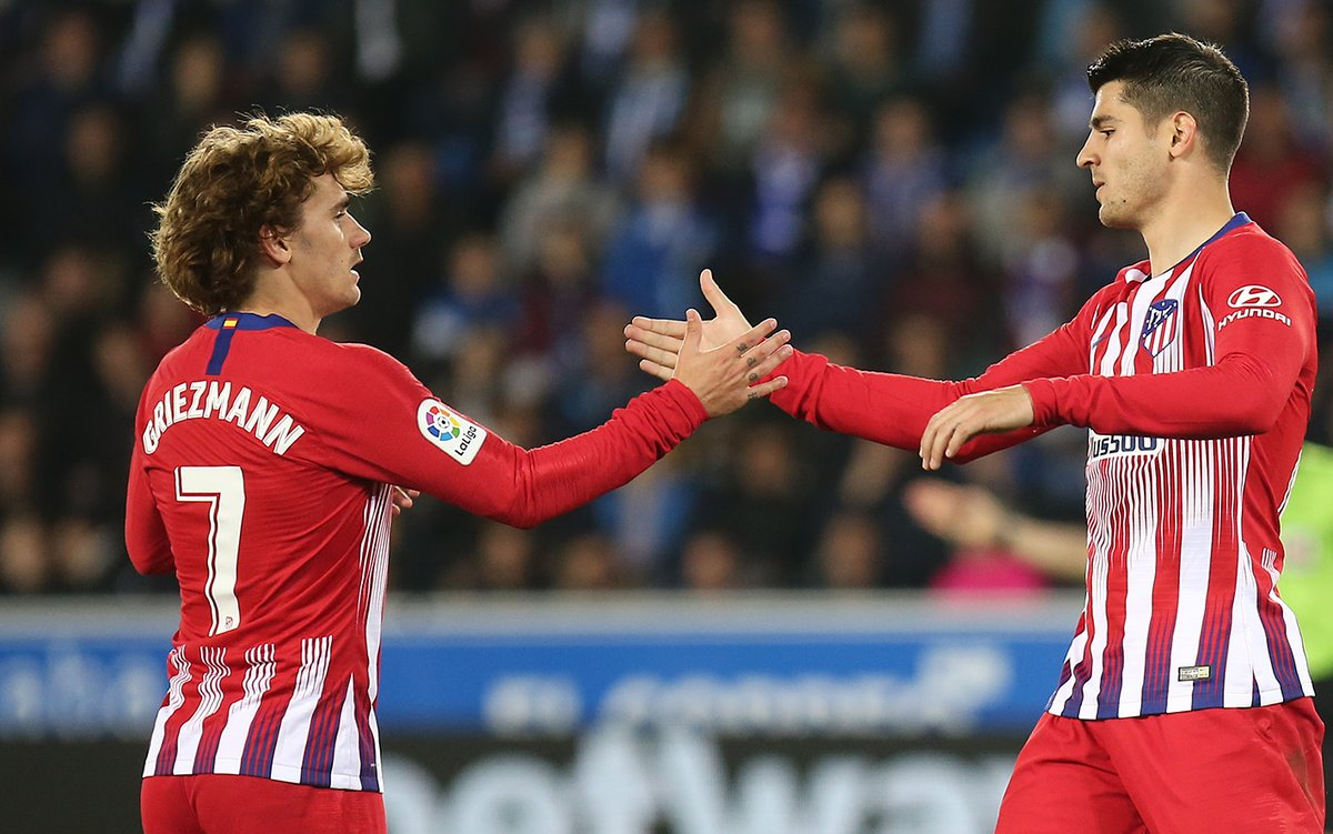Griezmann se quedaría con el Atlético. Foto: Twitter Atlético