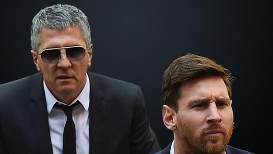 Detienen al padre de Messi. Foto: Twitter