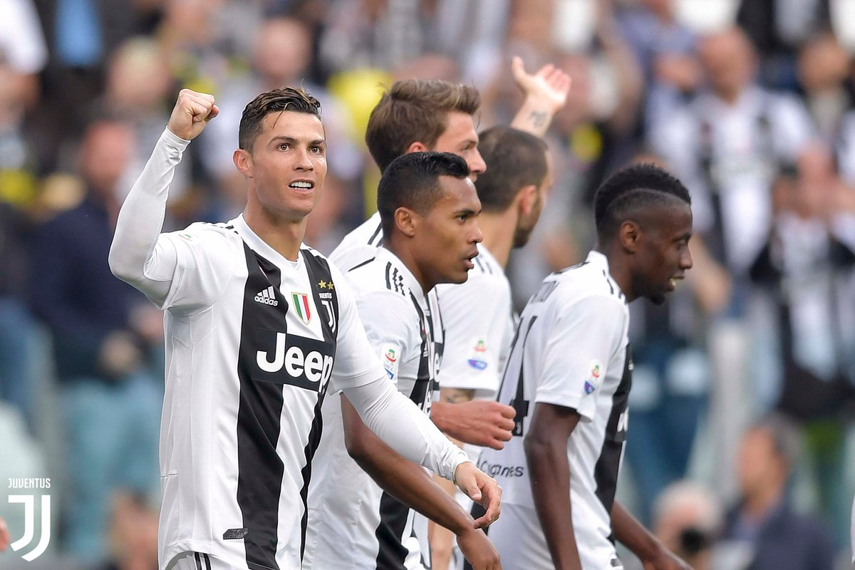 Juventus logró el Scudetto, Foto, Twitter