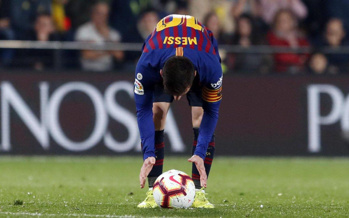 Le ampliarán contrato a Messi. Foto: Twitter Barcelona