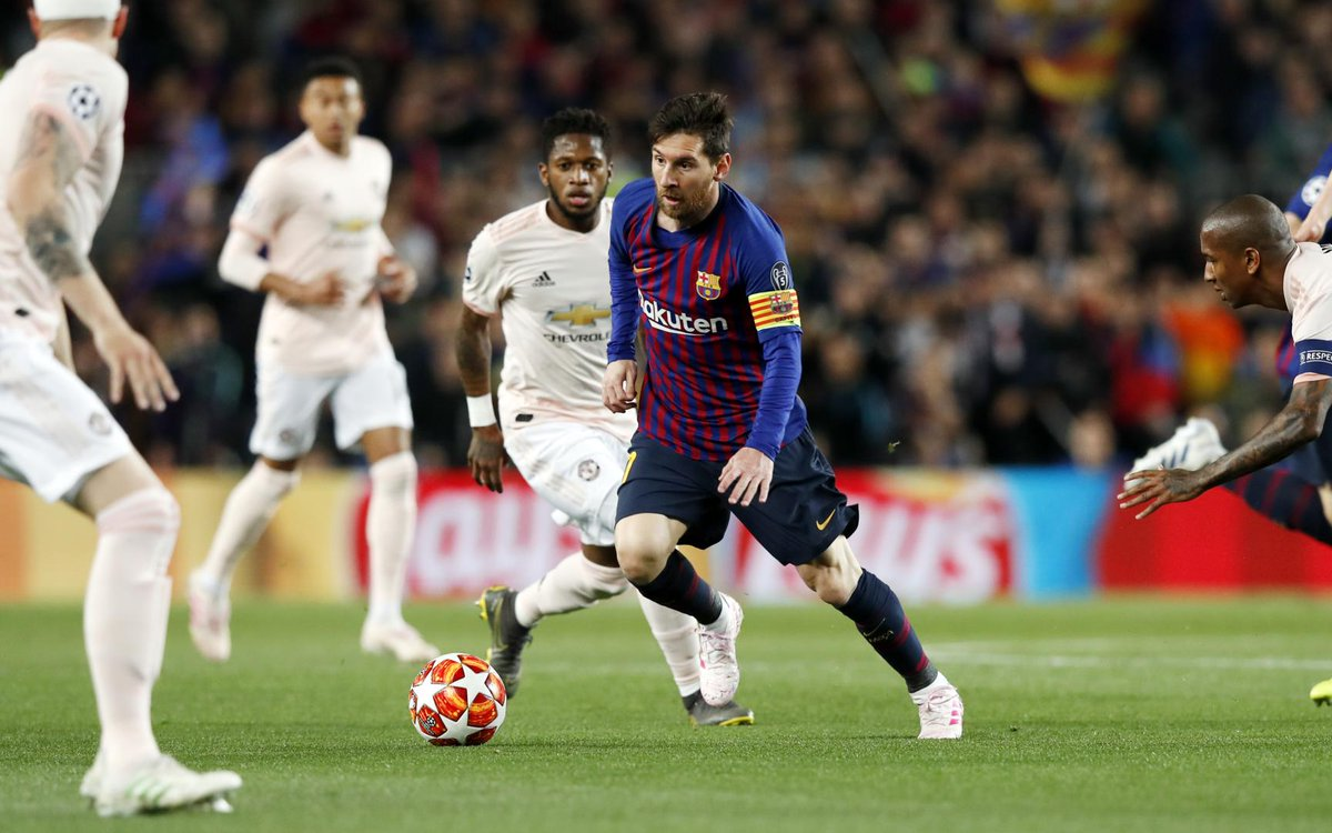Doblete de Messi en victoria de Barcelona. Foto: Barcelona