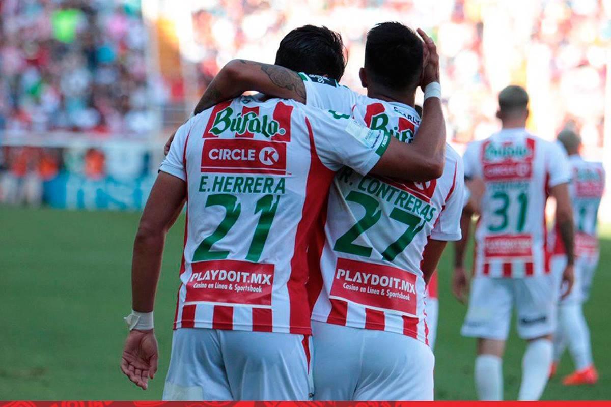 Necaxa y Pachuca igualan fuerzas. Foto: Necaxa