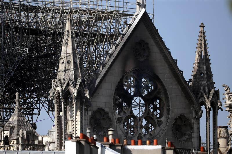Notre Dame, Catedral, incendio, París, Francia, Iglesia,