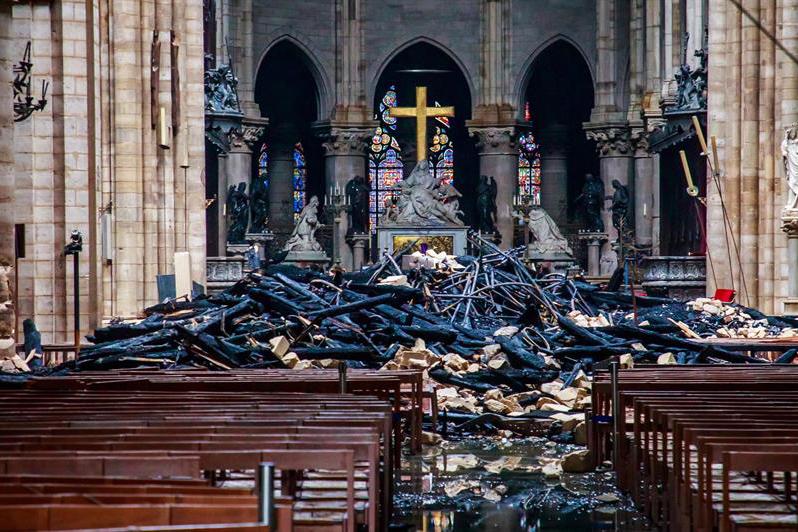 Notre Dame, París, Francia, Macron, Iglesia, Incendio,