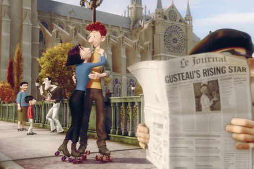 Ratatouille, Notre Dame, cine, Jorobado, incendio,