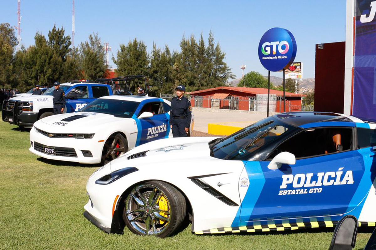Guanajuato, Cadillac, Mustang, Corvette, Camaro, Diego Sinhue Rodríguez Vallejo, seguridad,