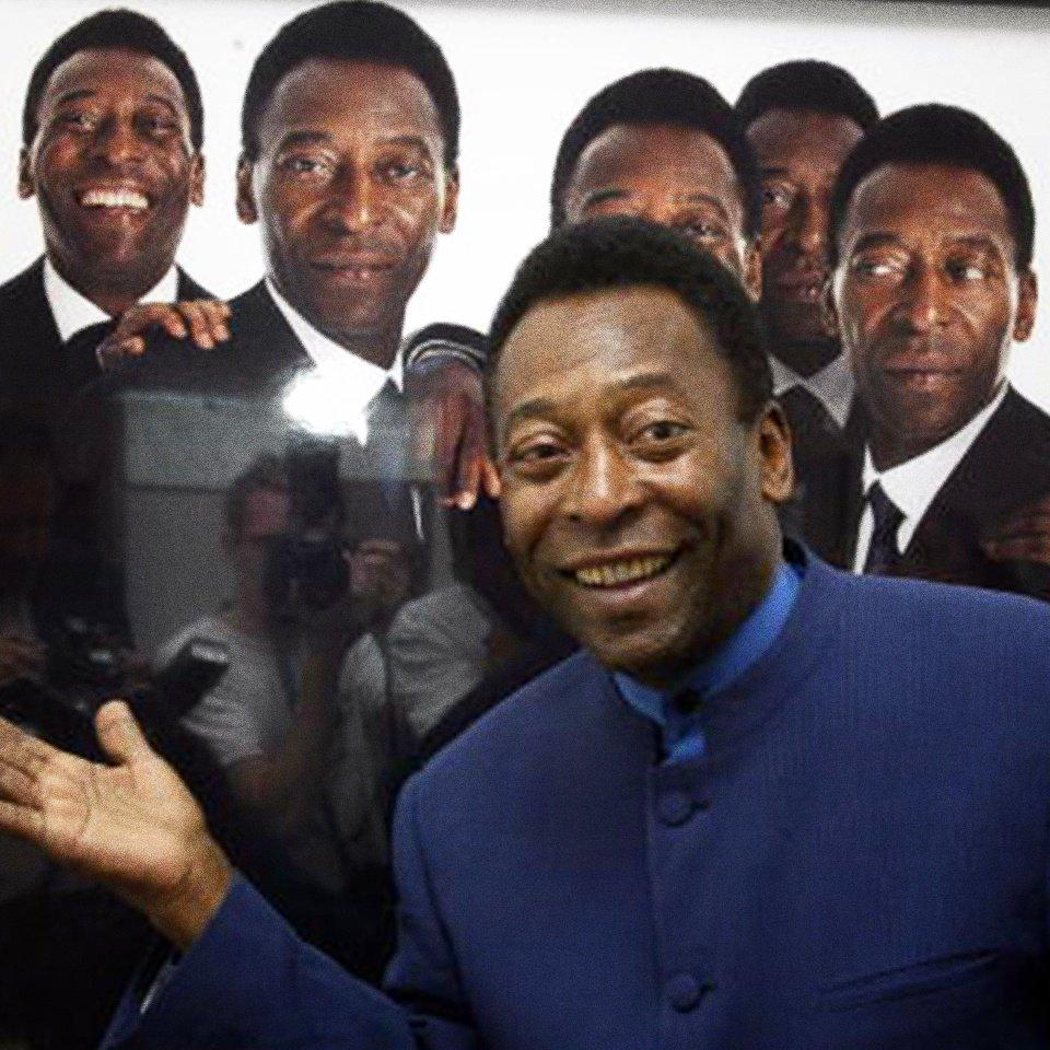 Operan con éxito a Pelé. Foto: Twitter Pele