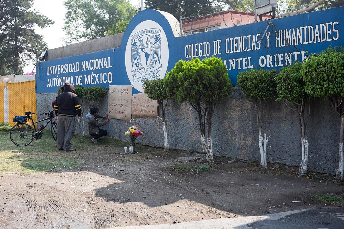 Aideé Mendoza Jerónimo, UNAM, CCH Oriente, Enrique Graue Wiechers, bala,