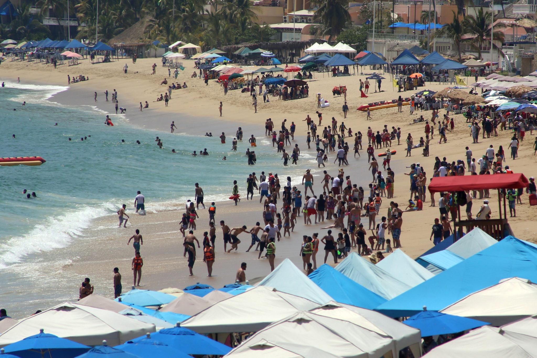 Playas, Acapulco, Semana Santa, Guerrero, turistas, vacaciones,