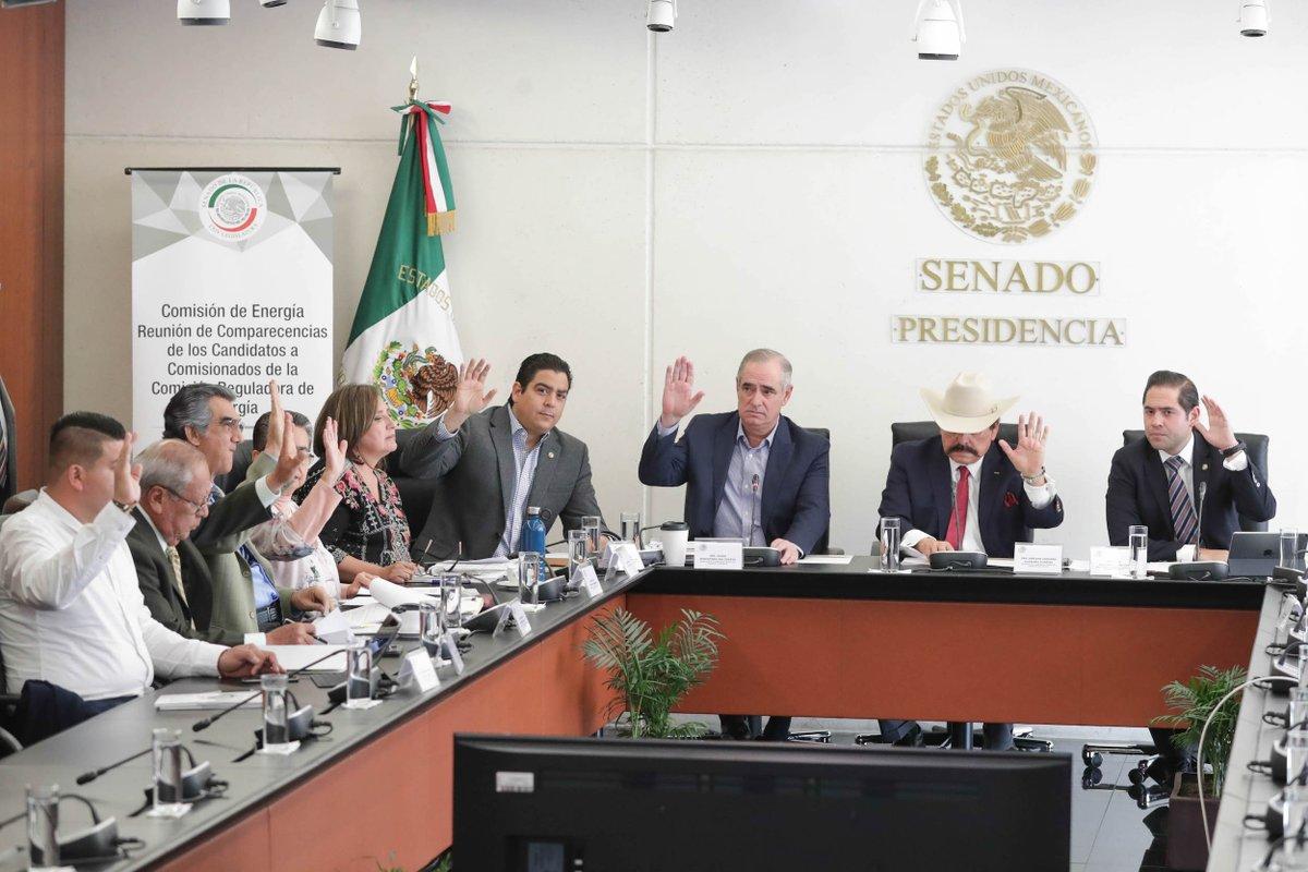Senado, Comisión de Energía, aspirantes a la CRE, Comisión Reguladora de Energía ,