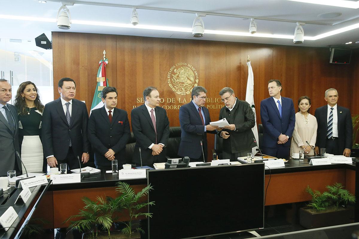 Congreso de la Unión, Senado, Guardia Nacional, Secretaría de Seguridad y Protección Ciudadana, Alfonso Durazo Montaño,