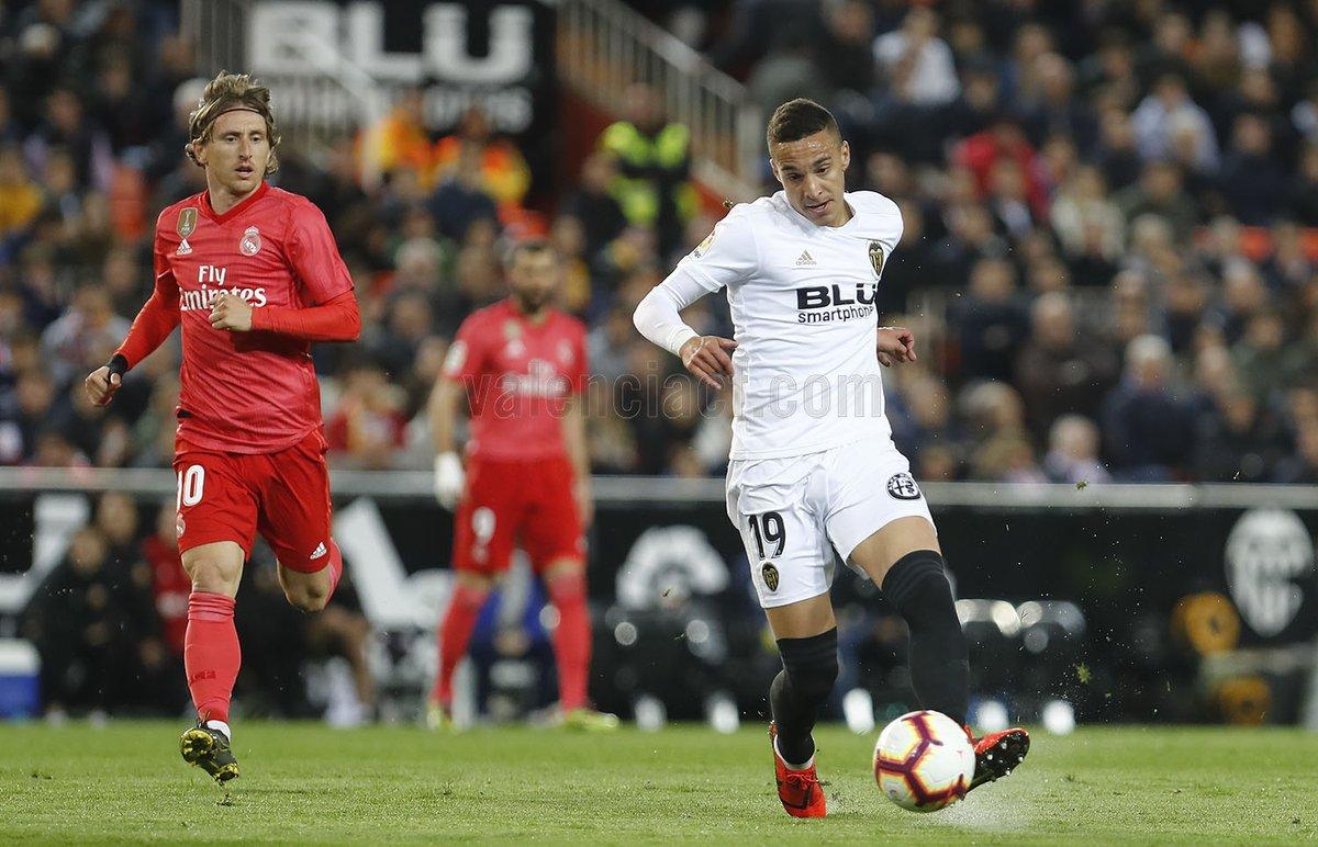 Valencia le propinó un revés al Real Madrid: Foto: Twitter Valencia