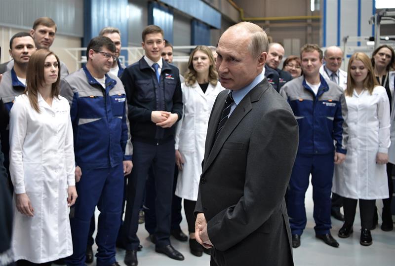 Vladimir Putín, Rusia