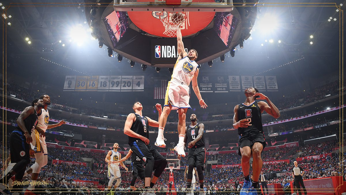 Warriors dio cuenta de los Clippers. Foto: Warriors